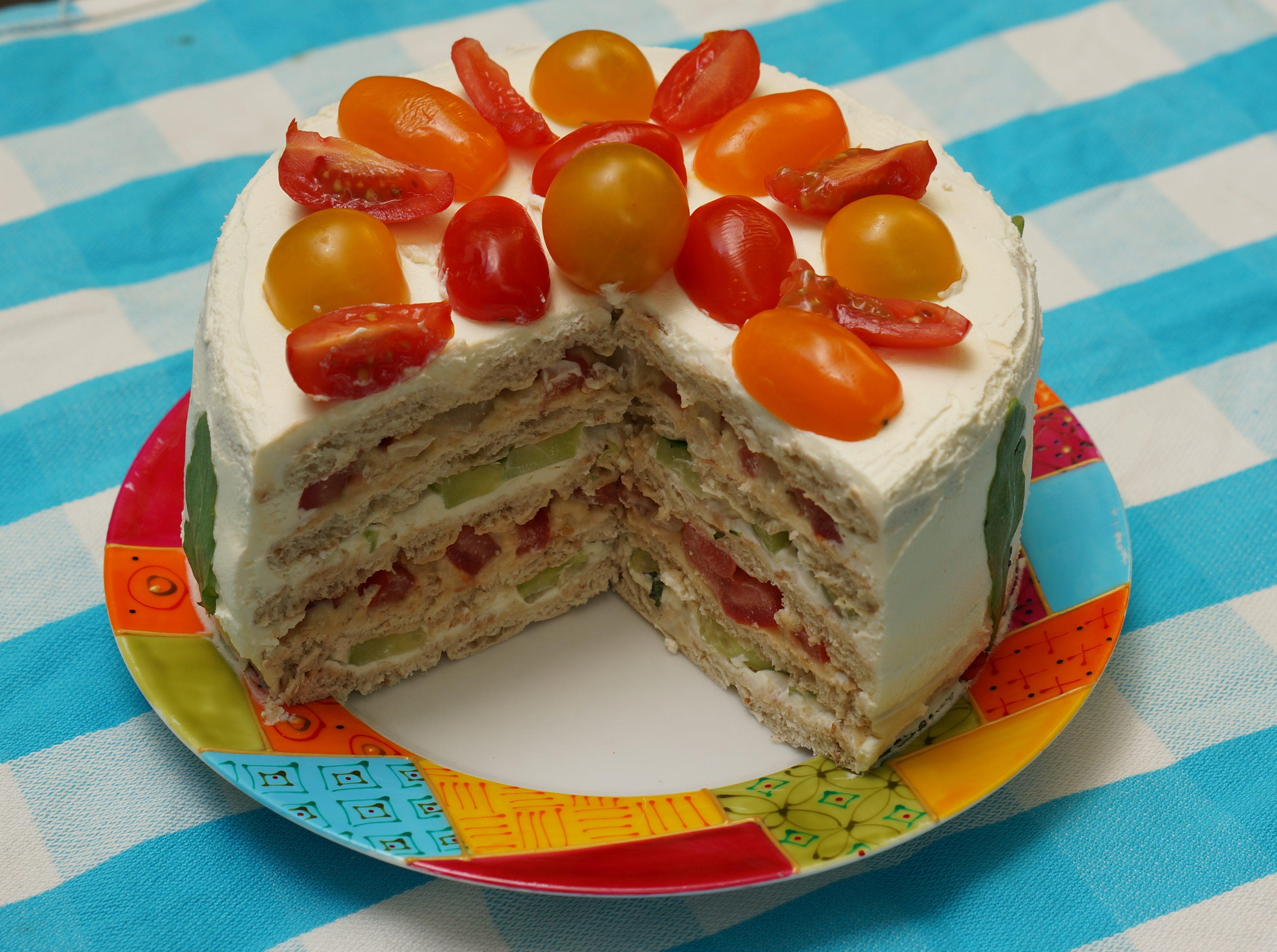 Sandwich cake - Gâteau sandwich