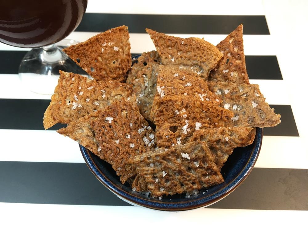 Chips de galette de sarrasin (ou blé noir)