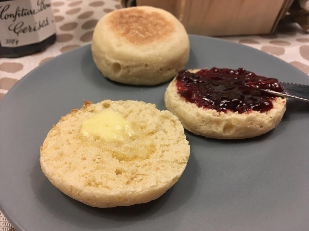 Muffins anglais (ou english muffins)