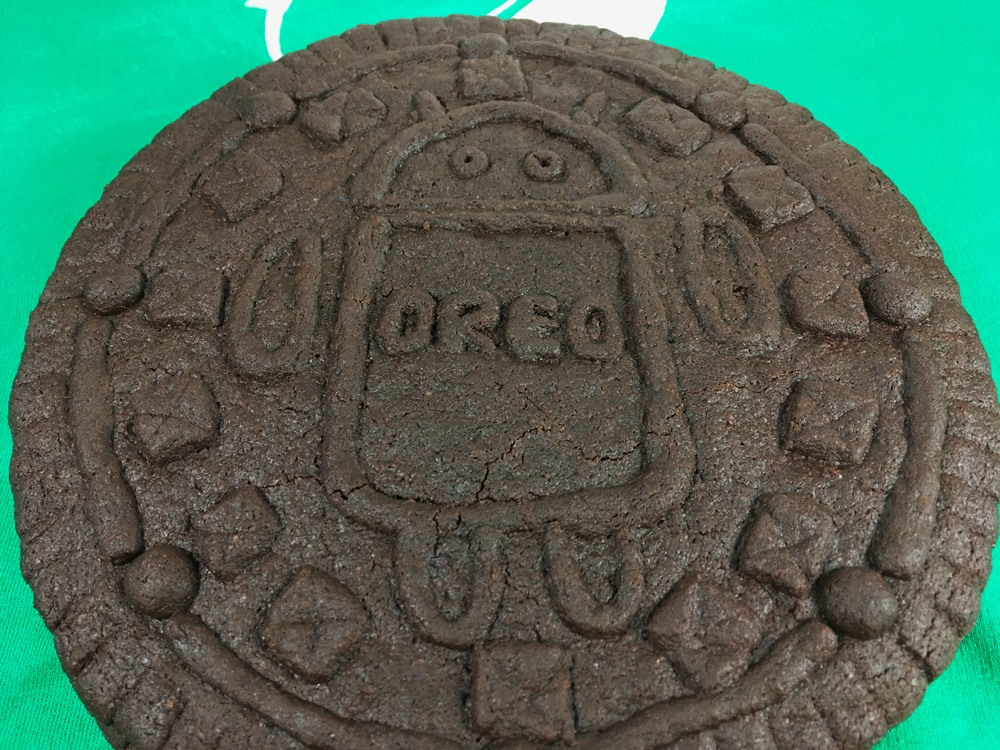 Oreo Android géant